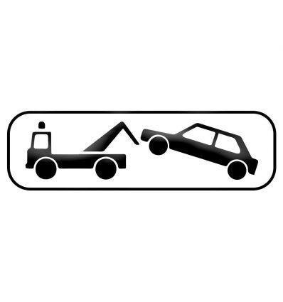 M6a - Panonceau enlèvement véhicule fourrière