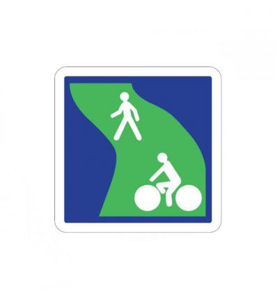 C115 - Panneau d'indication d'une voie verte