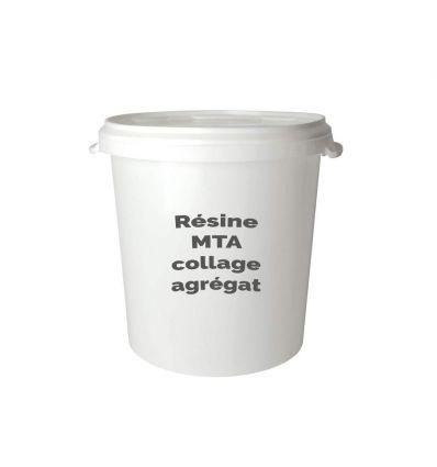 Résine méthacrylate pour collage de granulats