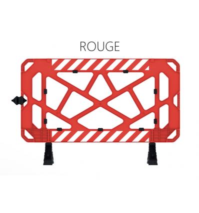 Barrière de chantier rouge Prozon