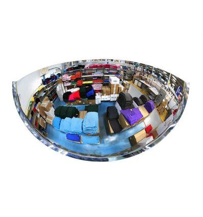 Miroir hémisphériques pour l'intérieur - Vision à 180° (fond blanc)
