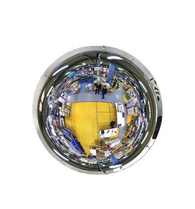 Miroir hémisphériques pour l'intérieur - Vision à 360° (fond blanc)