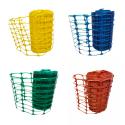 Grillage avertisseur vert, jaune, bleu ou marron