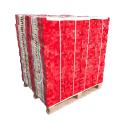 Piquet de chantier en bois à bout rouge (différentes tailles)