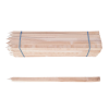 Piquet de chantier en bois (différentes tailles)