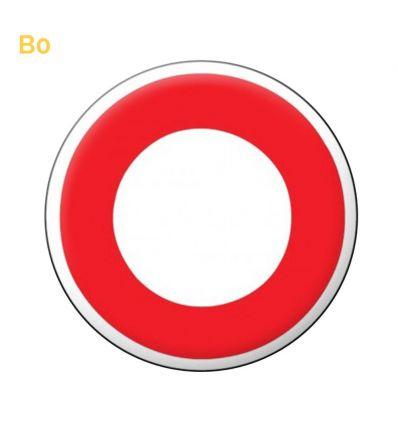 B0 - Panneau circulation interdite à tout véhicule dans les 2 sens Mysignalisation.com