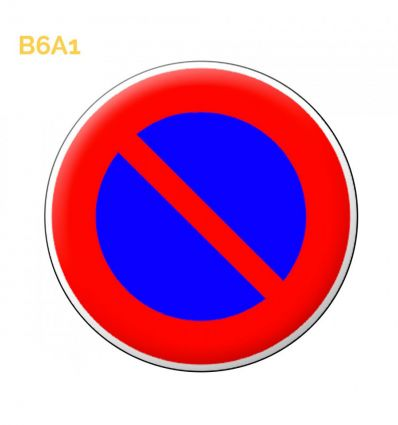 B6a1 - Panneau stationnement interdit Mysignalisation.com