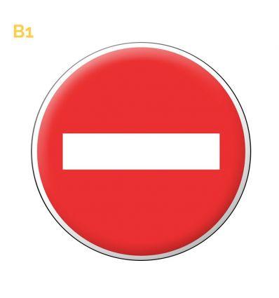 B1 - Panneau de circulation sens interdit à tout véhicule Mysignalisation.com