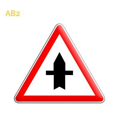 AB2 - Panneau d'intersection prioritaire Mysignalisation.com