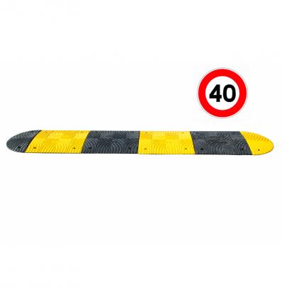 Ralentisseurs 30 mm voie privée (fixations incluses)