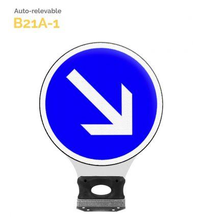 B21a1 - Balise Auto-Relevable Mysignalisation.com