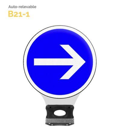 B21-1 - Balise Auto-Relevable Mysignalisation.com