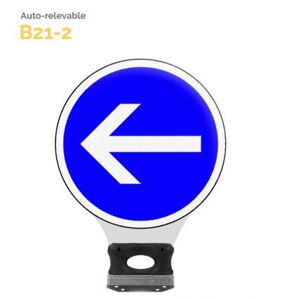 B21-2 - Balise Auto-Relevable Mysignalisation.com