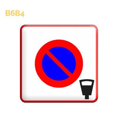 B6b4 - Panneau entrée d'une zone à stationnement payant Mysignalisation.com