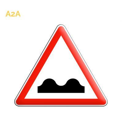 A2a - Panneau cassis ou dos d'âne Mysignalisation.com