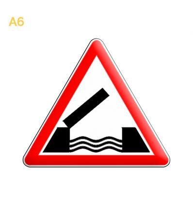 A6 - Panneau pont mobile Mysignalisation.com