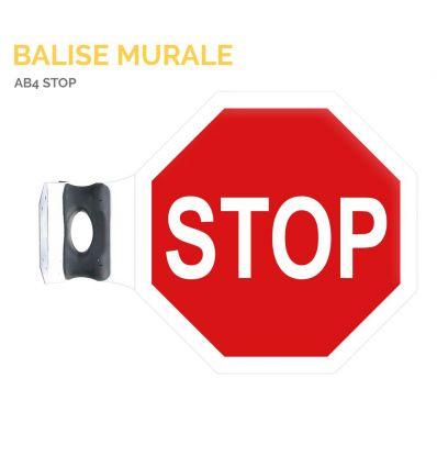 AB4 - Balise murale stop Mysignalisation.com