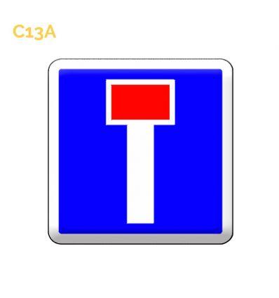 C13A panneau d'indication d'une impasse. MySignalisation.com