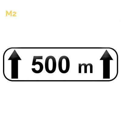 M2 - Panonceau d'étendue Mysignalisation.com
