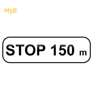 M5b - Panonceau STOP Mysignalisation.com