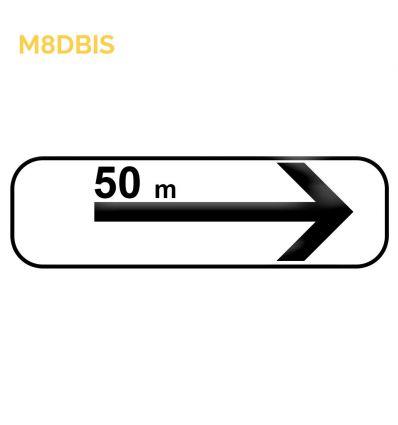M8dbis - Panonceau d'application des prescriptions concernant l'arrêt et le stationnement  Mysignalisation.com
