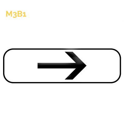 M3b1 - Panonceau de position ou directionnel Mysignalisation.com