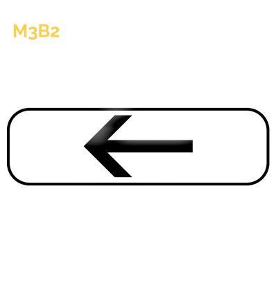 M3b2 - Panonceau de position ou directionnel Mysignalisation.com