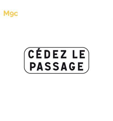 M9c - Panonceau cédez le passage Mysignalisation.com