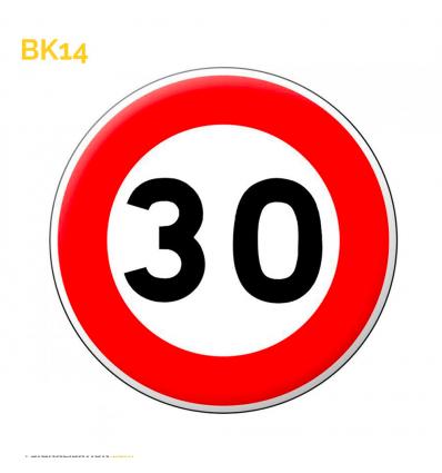 BK14 - Limitation de vitesse 30 km/h