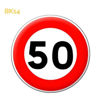 BK14 - Limitation de vitesse 50 km/h