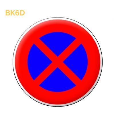 BK6d - Arrêt et stationnement interdits Mysignalisation.com