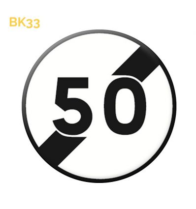BK33 - Fin de limitation Mysignalisation.com