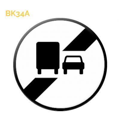 BK34A - Fin de dépassement Mysignalisation.com