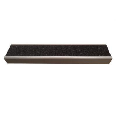 Nez de marche cornière antidérapant en aluminium