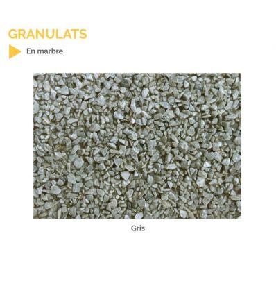 Granulats en marbre pour résine gravillonnée