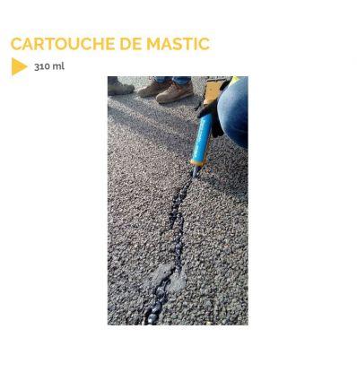 Cartouche Mastic élastoplastique bituneux pour reboucher les fissures