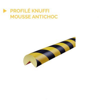 Profilé Knuffi de protection type A base en acier