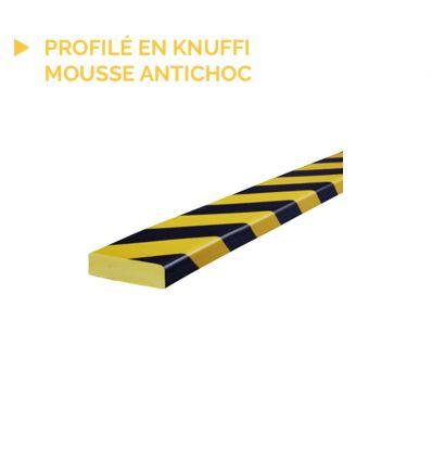 Profilé Knuffi de protection type S avec base en acier