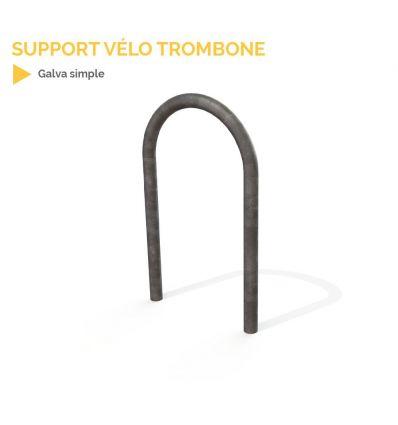 Support vélo trombone