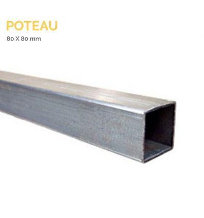 Poteau 80 X 80 mm Mysignalisation.com