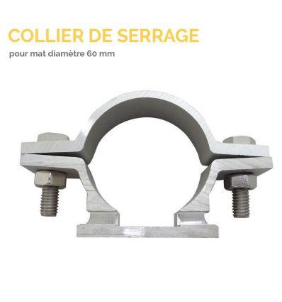 Collier de serrage pour mat diametre 60 mm Mysignalisation.com