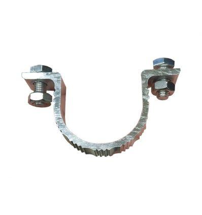Collier de serrage pour mat diametre 76 mm Mysignalisation.com