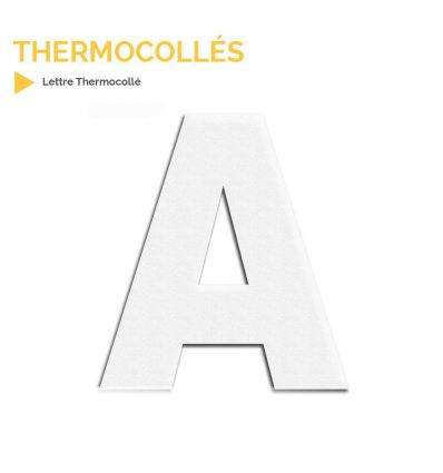 Lettres thermocollées Mysignalisation.com