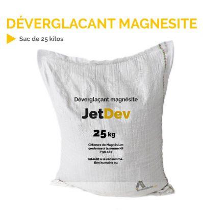 Déverglaçant magnésite chlorure de magnésium en sac de 25 kg Mysignalisation