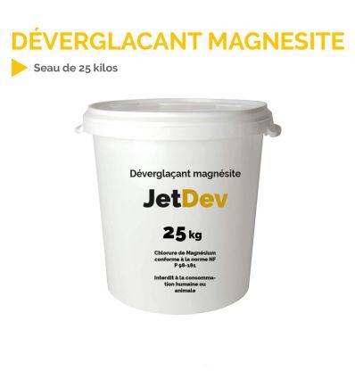 Déverglaçant magnésite chlorure de magnésium en seau de 25 kg Mysignalisation