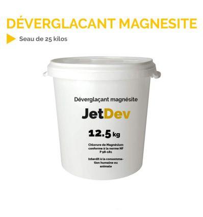 Déverglaçant magnésite chlorure de magnésium en seau de 12.5 kg Mysignalisation