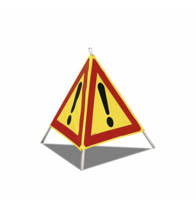 AK14 - Panneau de dangers pliable tripode chantier
