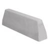 Bordure de défense 100 cm gris lisse