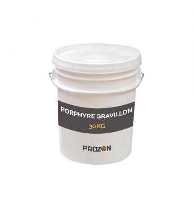 Porphyre gravillon en seau de 20 litres