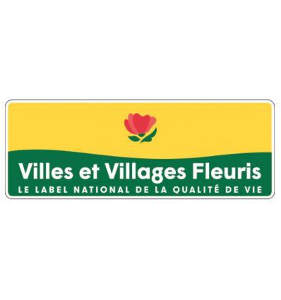 Panneau de signalisation villes et villages fleuris